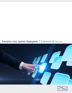 Download > Enterprise Class Systems Deployment