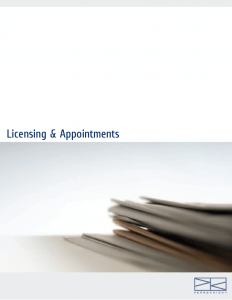 Download Licensing & Appointments