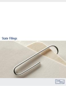 Download > State Filings
