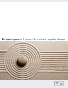 Download > The Aligned Organization