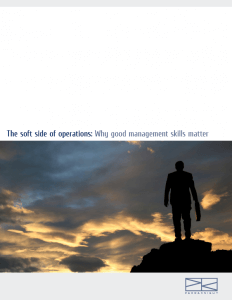 Download > The Soft Side of Operations
